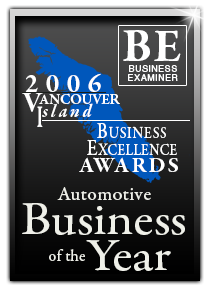 2006 Vancouver Island Automotive Business of the Year