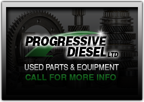 Used diesel engine parts and equipment